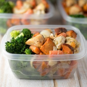 Simple & Healthy Chicken Sweet Potato Bake
