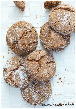 Soft and Chewy Molasses Cookies Recipe